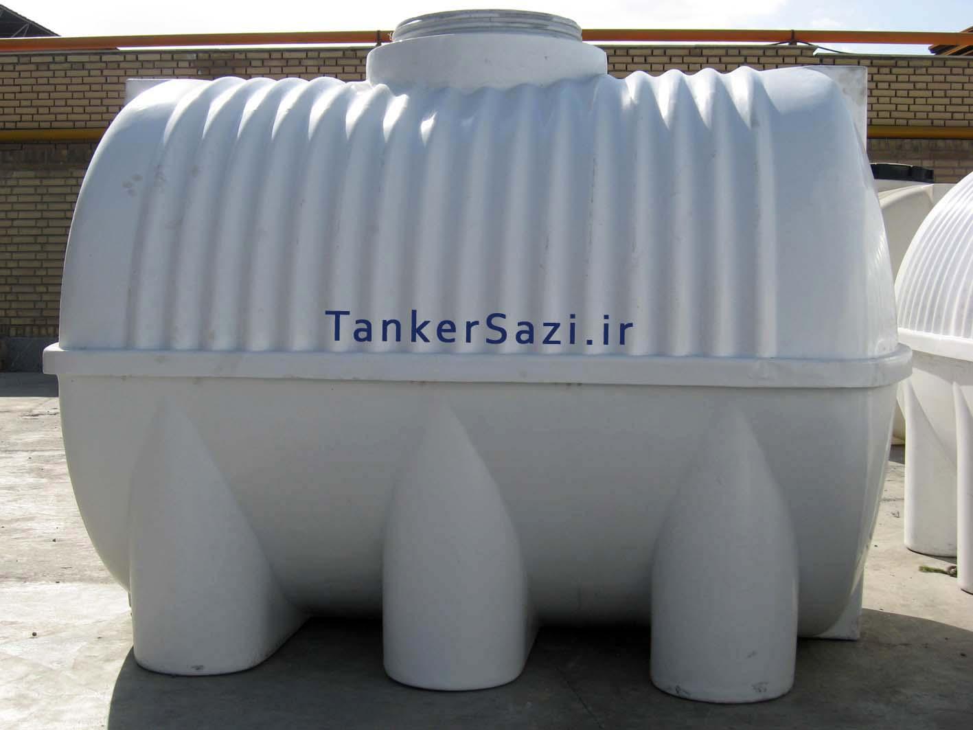 تانکر آب پلاستیکی