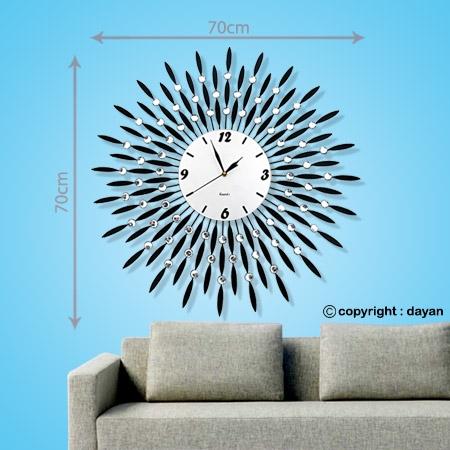 ساعت دیواری طرح دار فانتزی مدرن کلاسیک